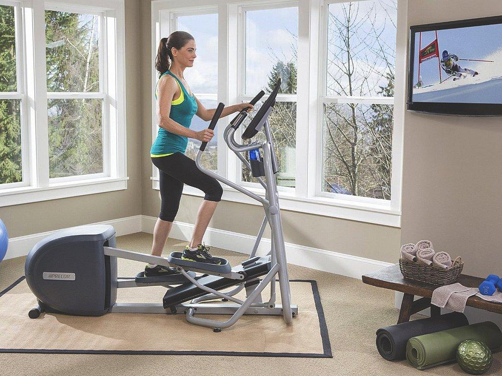 Как правильно выбрать эллиптический тренажёр для дома + фото и видео
