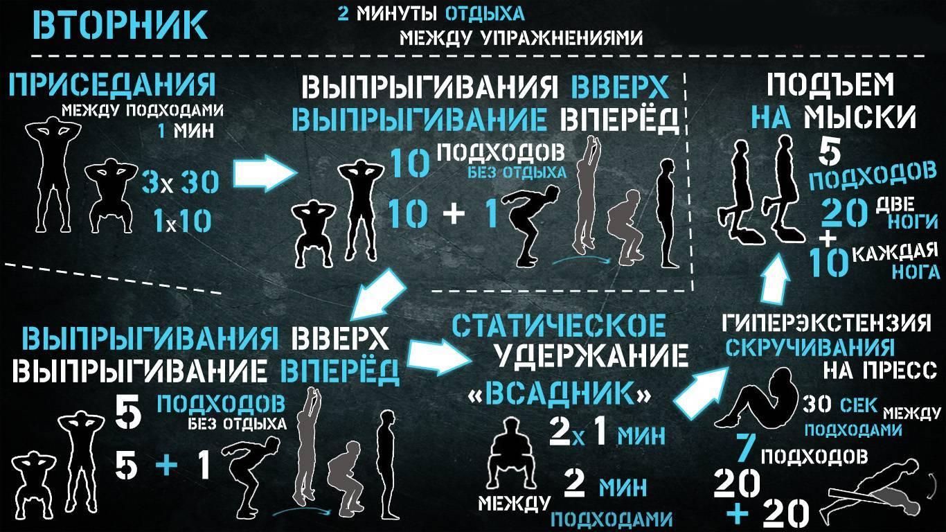 Калистеника тренировка для продвинутого уровня