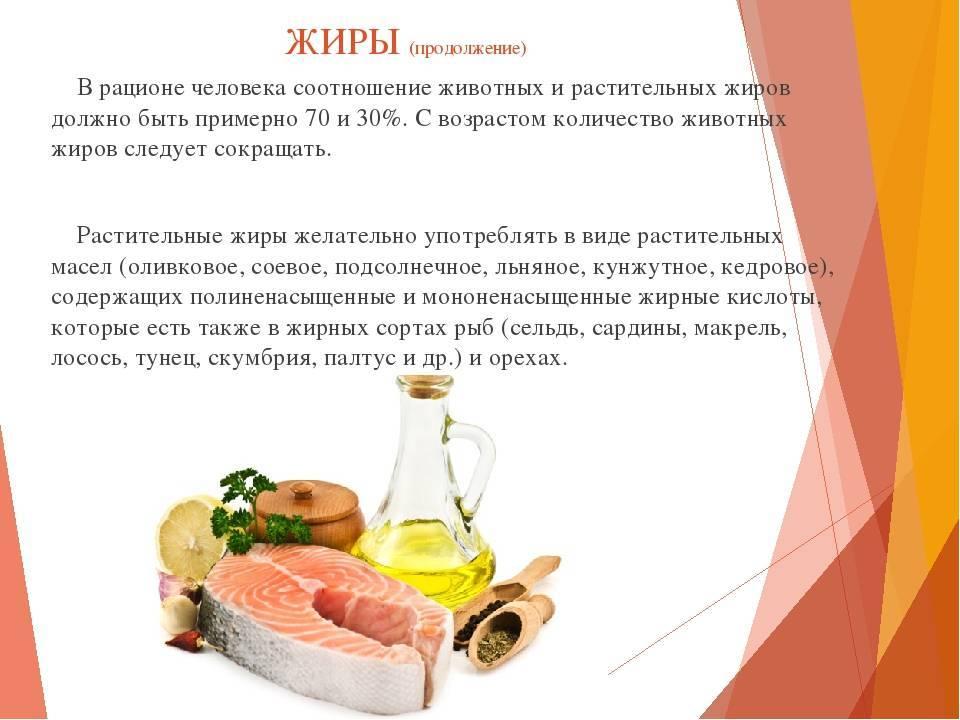 Насыщенные жиры: список продуктов, польза и вред
