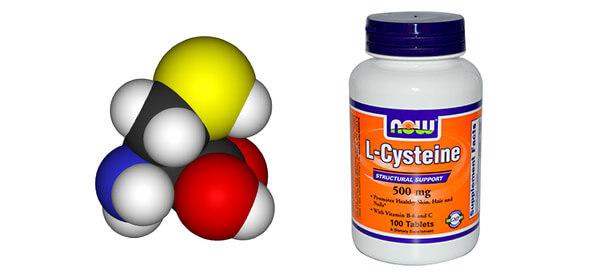 Цистеин: чем отличается от цистина, где содержится аминокислота
