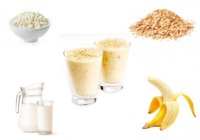 Рецепты белковых коктейлей для набора мышечной массы