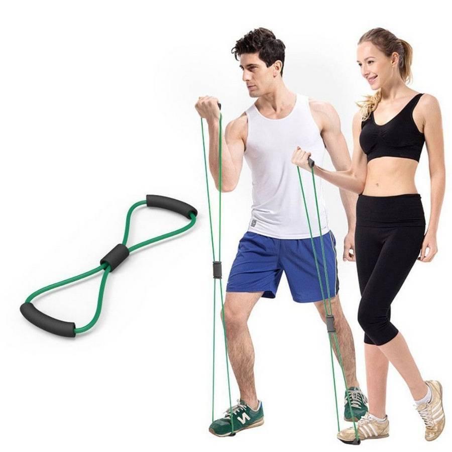 Комплекс упражнений с эспандером на все группы мышц для женщин и мужчин
