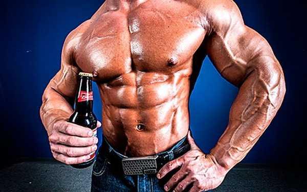 Пиво и бодибилдинг, влияет ли употребление пива на рост мышц?