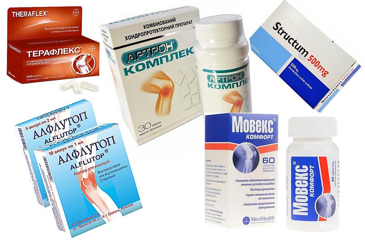 Хондропротекторы для суставов: список самых эффективных, цена