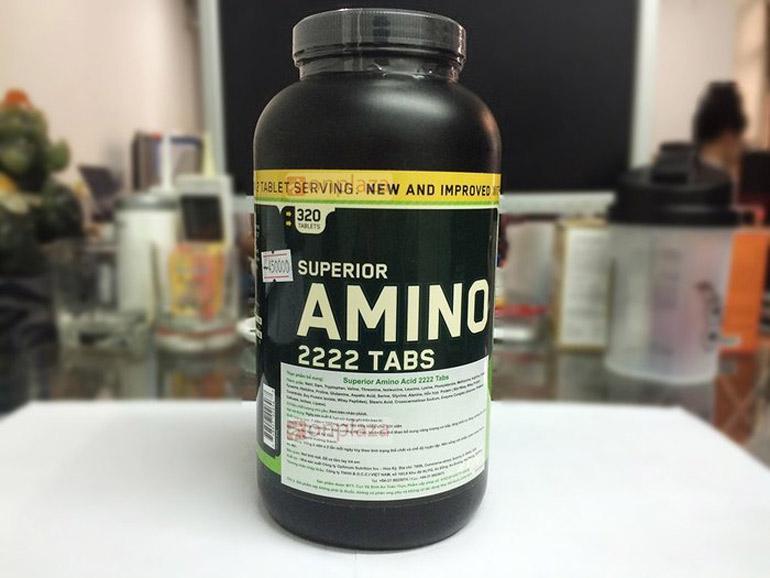Как принимать superior amino 2222 от optimum nutrition?