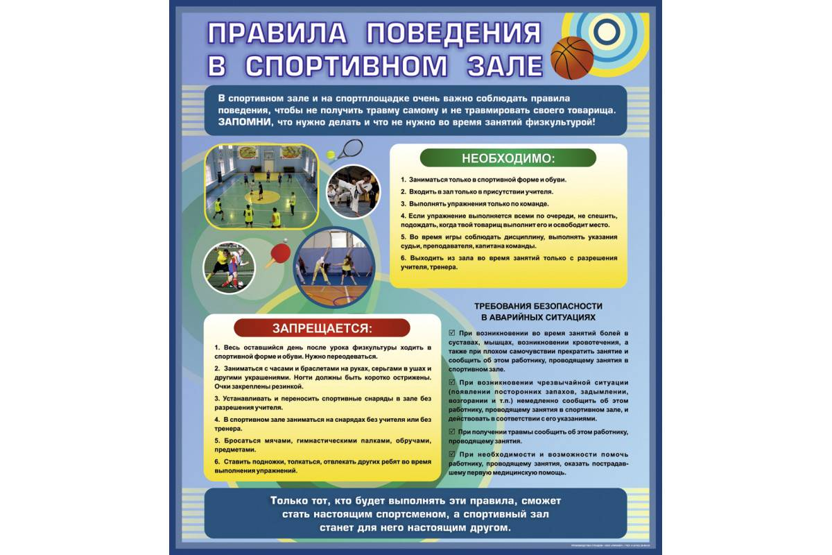 Правила поведения в тренажёрном зале: поведение и безопасность