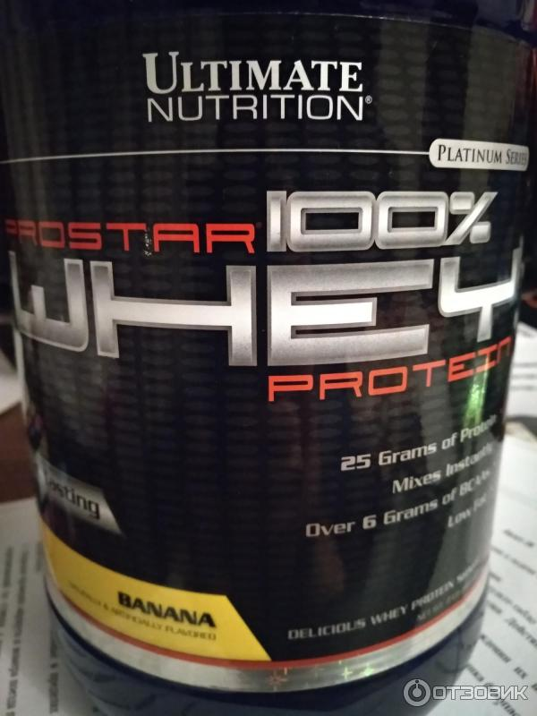 Prostar 100% whey protein 908 гр - 2lb (ultimate nutrition)