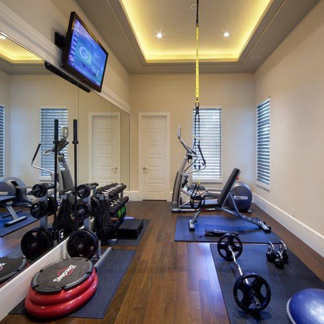 Домашний спортзал: дизайн интерьера и оборудование