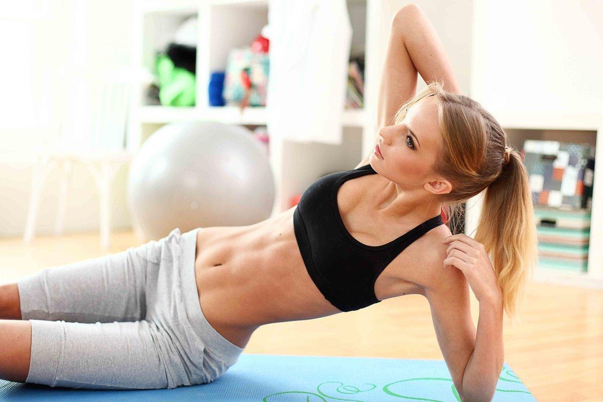 Тренировки дома для девушек для похудения: лучшие упражнения и план занятий