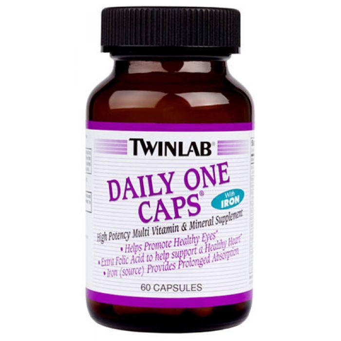 Витамины twinlab daily one caps инструкция