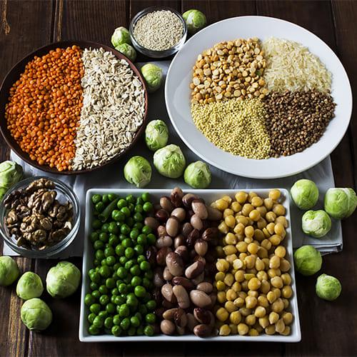 Основные источники белка для вегетарианцев | myveganclub