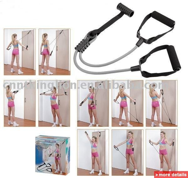 Занятия с эспандером: комплекс упражнений на укрепление спины и позвоночника