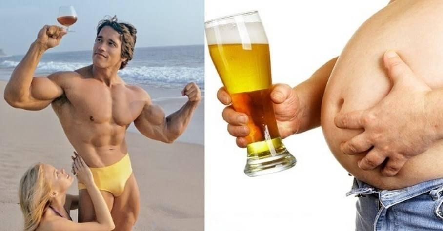 Можно ли пить пиво после посещения тренажерного зала: вред и польза