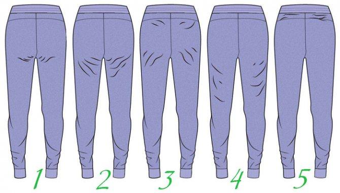 Как убрать складки под попой: процедуры, обертывания и упражнения