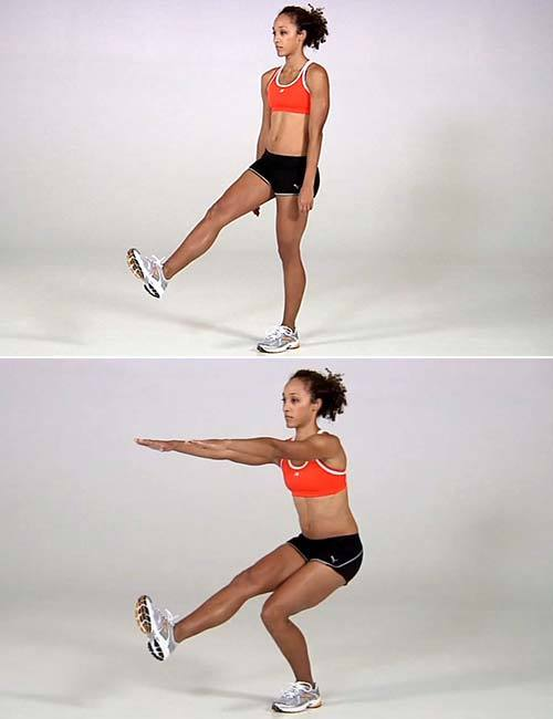 Какими методами можно убрать икры и лишнюю мышечную массу на ногах женщине за неделю