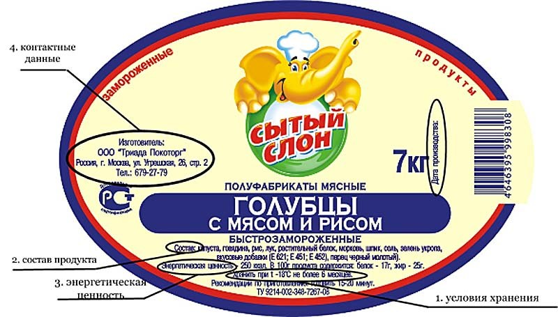 Читаем этикетки на продуктах или как распознать вредные пищевые добавки | управление роспотребнадзора по калининградской области