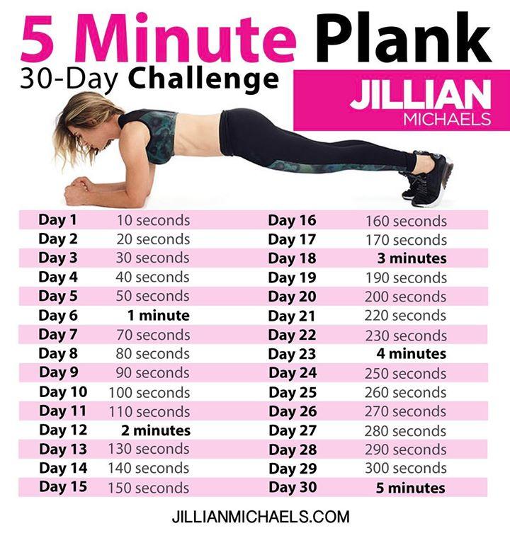 Упражнение планка на 30 дней: виды планок, техника и эффекты от тренировок, расписание занятий