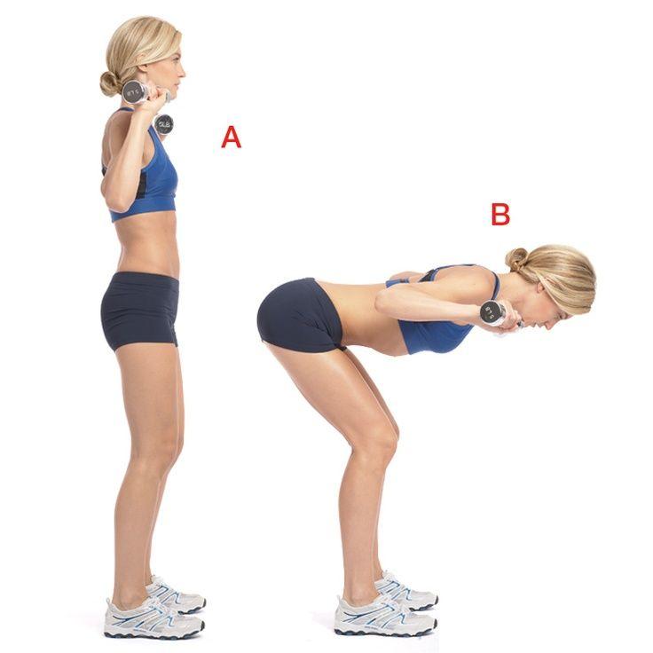 Наклоны со штангой на плечах. упражнение доброе утро | bestbodyblog.com