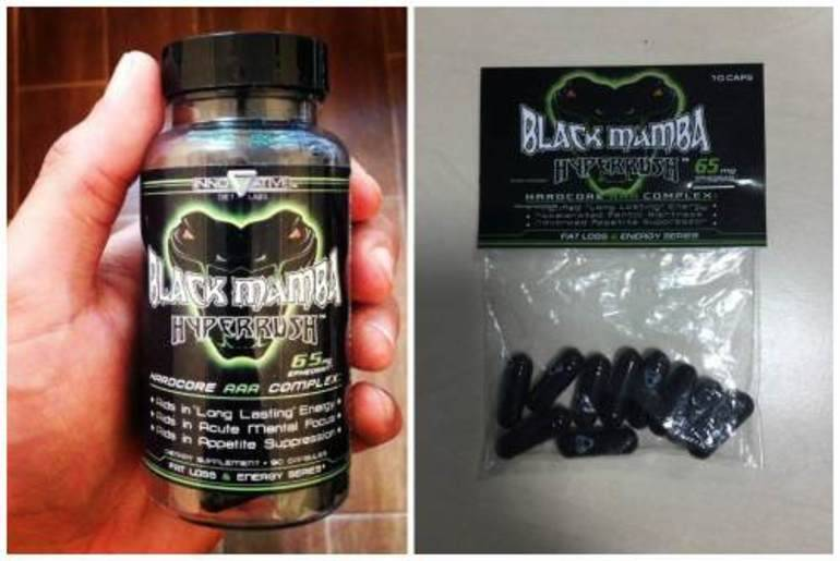 Жиросжигатель black mamba - как правильно принимать?