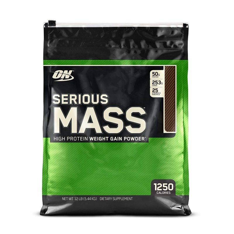 Гейнер сириус масс (serious mass) — лидер рынка от optimum nutrition
