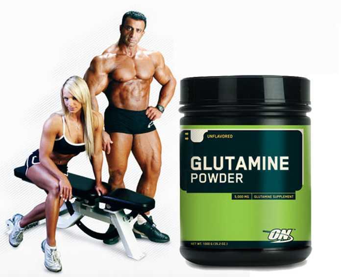 Глютамин в бодибилдинге