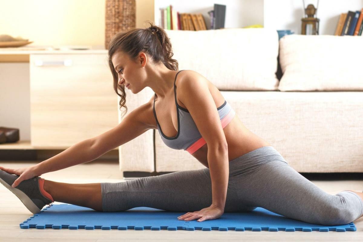 Вечерняя зарядка для похудения в домашних условиях