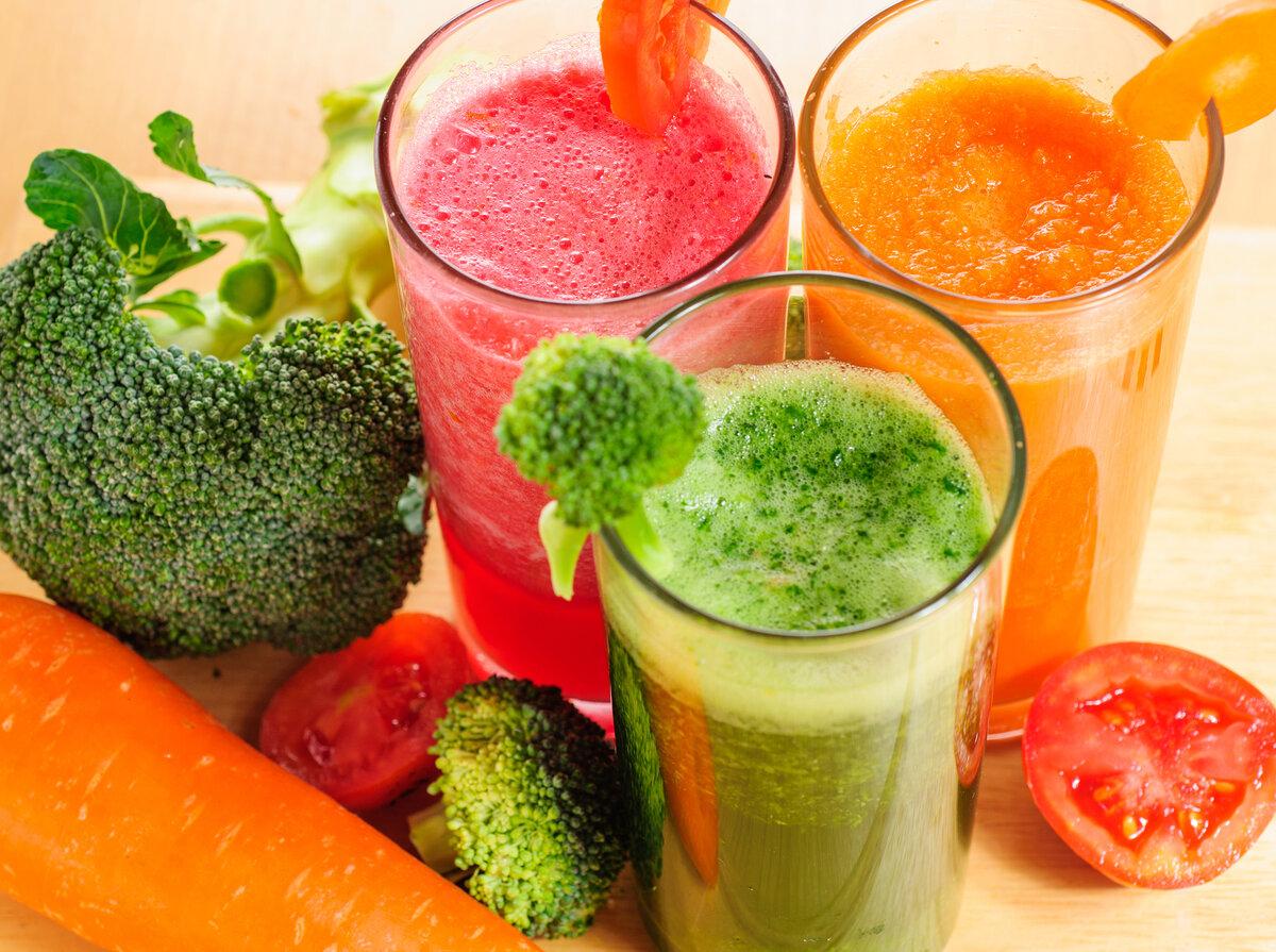 Свежевыжатые овощные соки: польза и вред, рецепты приготовления
