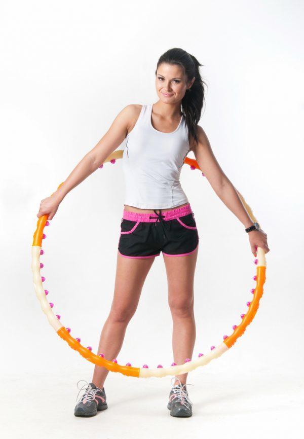 Обруч для похудения – как крутить, чтобы убрать живот и бока