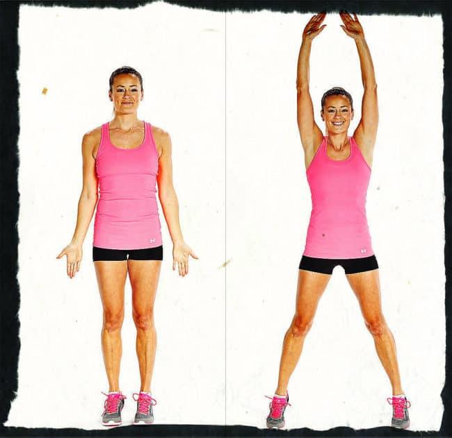 Как правильно делать упражнение «джампинг-джек»