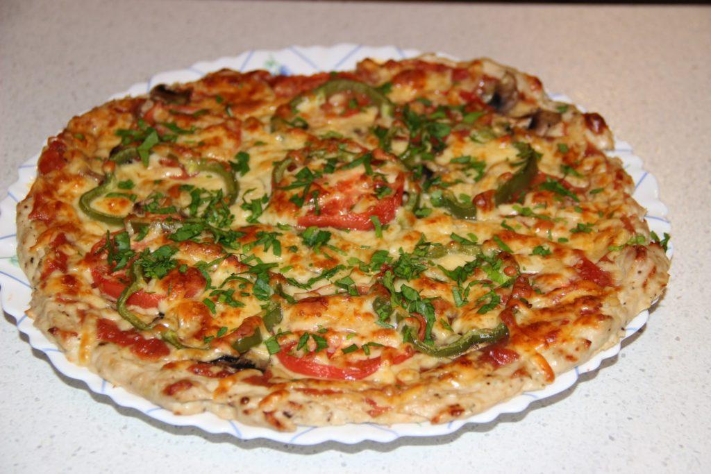 Пицца из куриного фарша вместо теста — 7 пошаговых рецептов