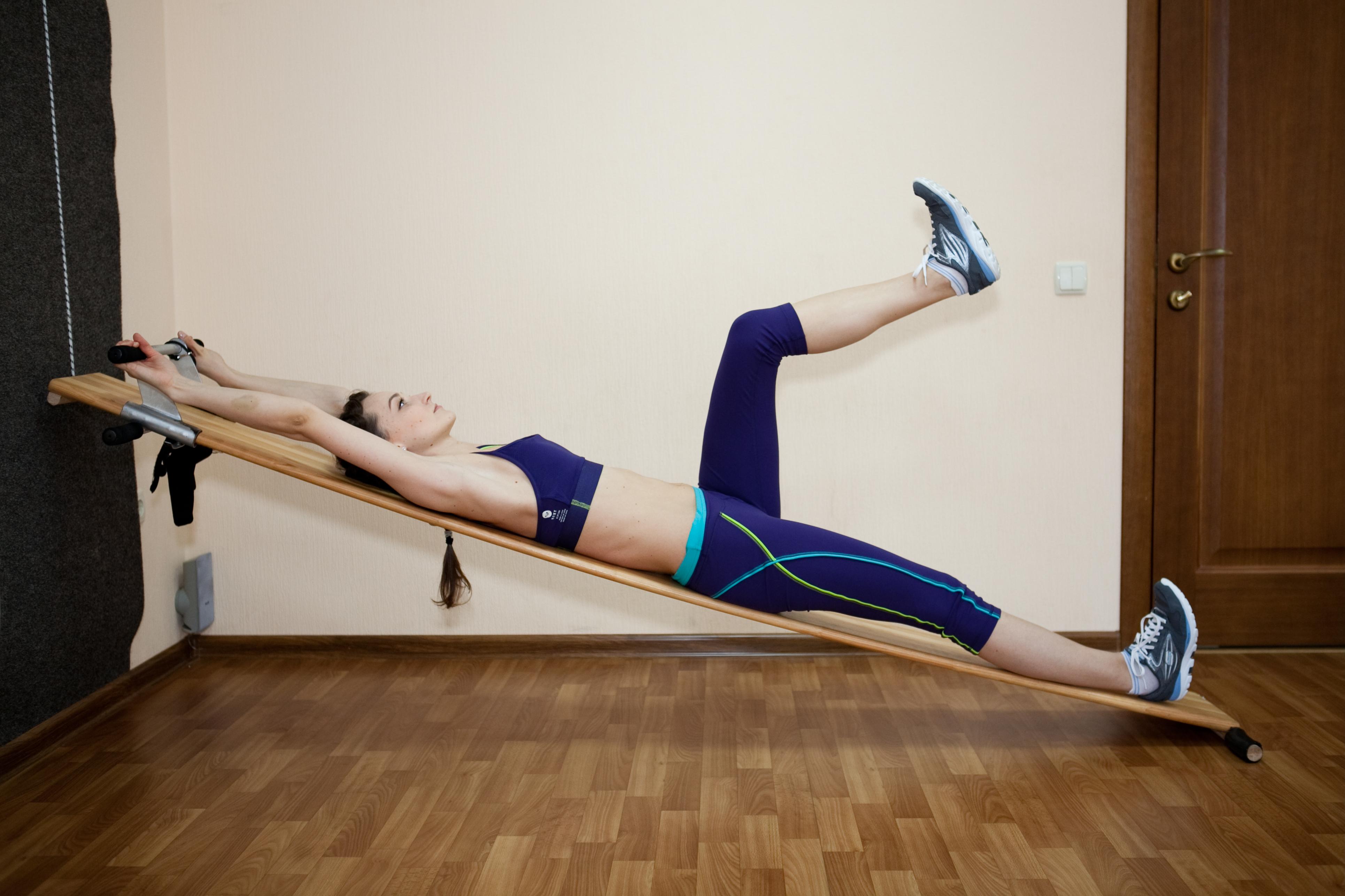 Доска евминова: комплекс упражнений для вытяжения позвоночника на наклонной доске