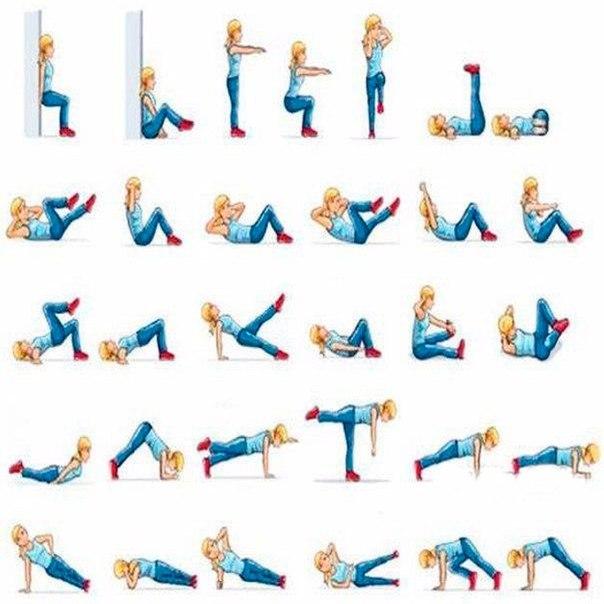 Упражнения для девушек на ноги и ягодицы, которые можно выполнять в домашних условиях