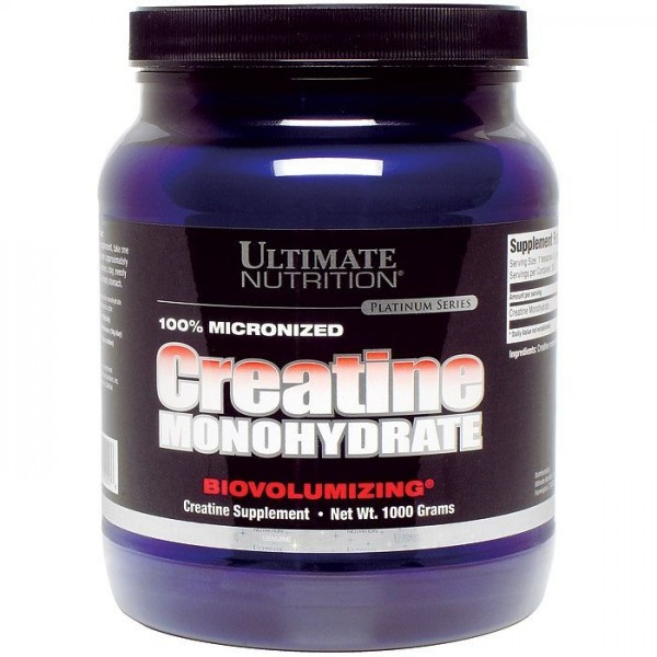 Обзор креатиновой добавки в виде моногидрата от ultimate nutrition