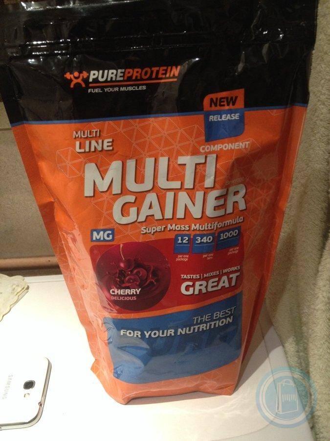 Multicomponent gainer