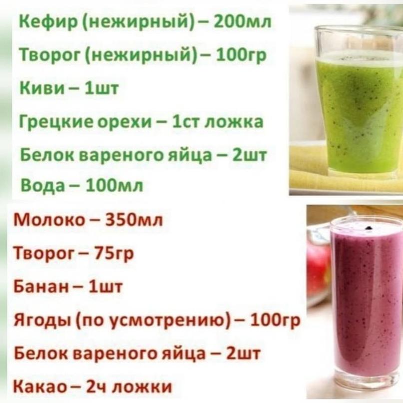 20 рецептов протеиновых коктейлей для роста мышц в домашних условиях