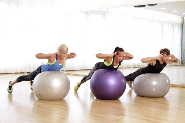 Тренировки на фитболе для похудения, комплекс упражнений для живота, бедер и ягодиц