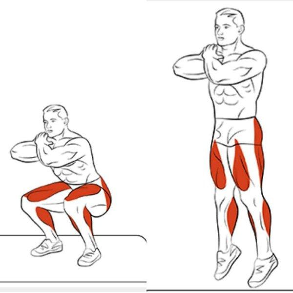 Как быстро накачать ноги?