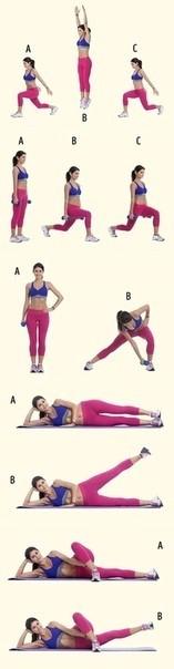 Самые эффективные упражнения для похудения ляжек, ног в домашних условиях