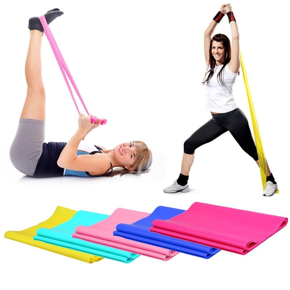 Упражнения с резинкой: как эффективно прокачать мышцы всего тела