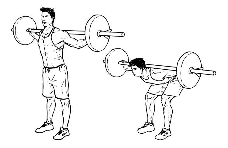 Упражнение гуд монинг