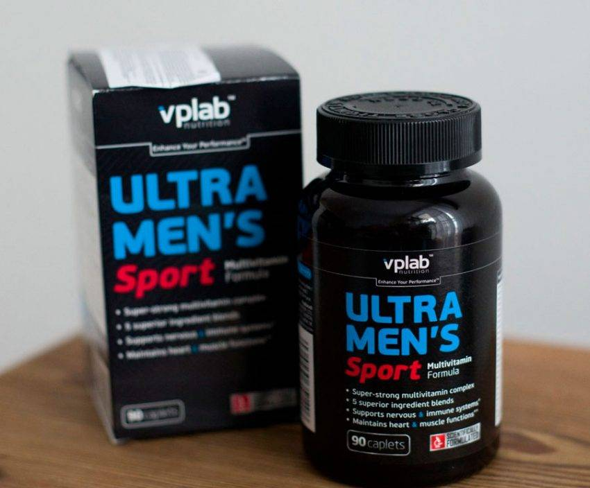 Ultra men's sport multivitamin formula от vplab: как принимать