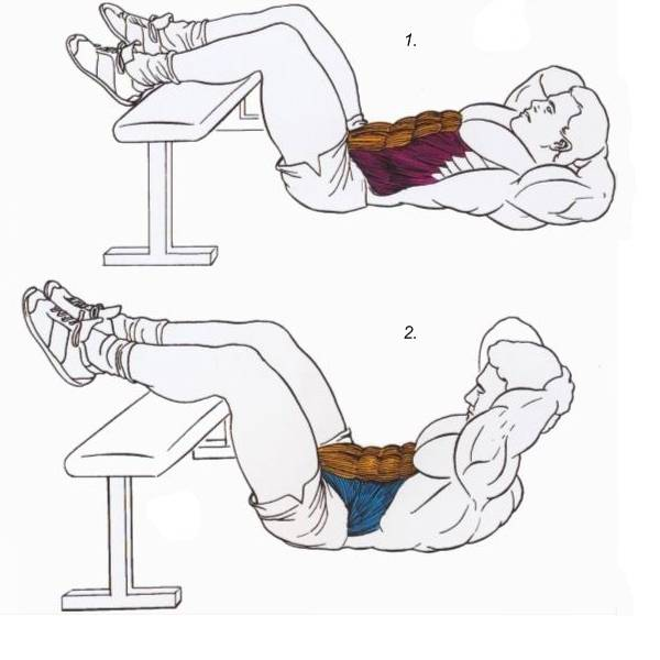 Упражнения для нижнего пресса для девушек в домашних условиях!