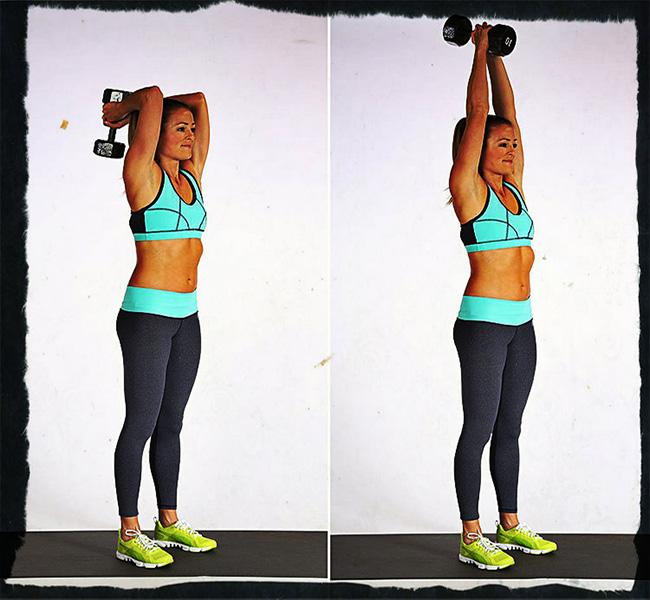 Упражнения и готовые программы тренировок рук для девушек в тренажерном зале   rulebody.ru — правила тела