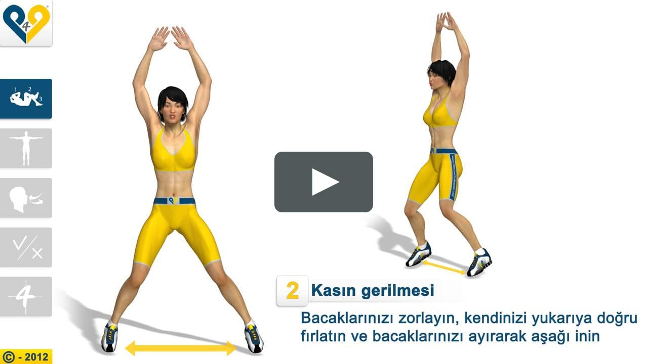 Джампинг фитнес. упражнения на батуте