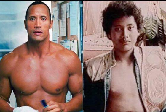 Как выглядел дуэйн «скала» джонсон в молодости: фото, трансформация