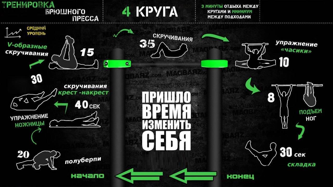 Воркаут (workout) тренировки: вводная программа и основные принципы