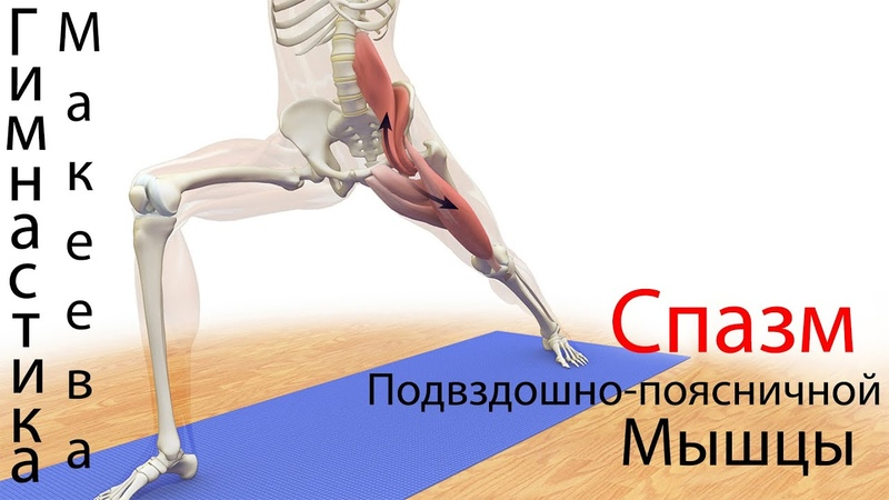 Синдром подвздошно-поясничной мышцы: причины, симптомы и лечение