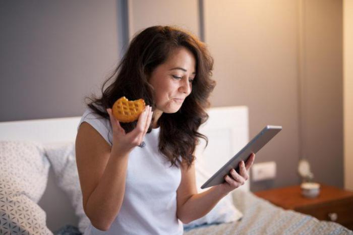 Что лучше есть перед сном