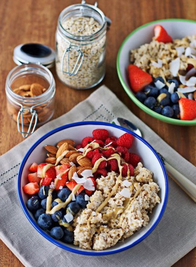 Правильное питание утром, что лучше кушать на завтрак