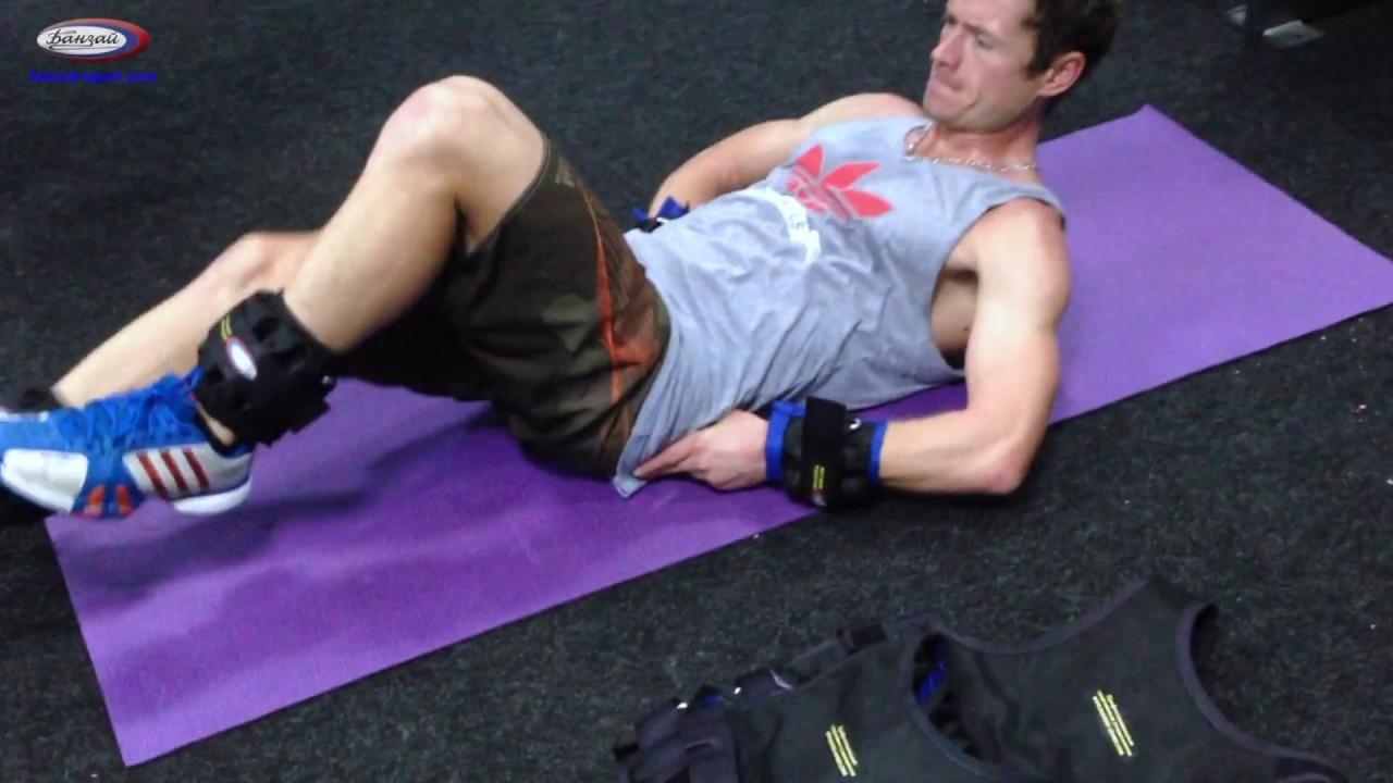 Утяжелители для ног: разновидности, польза и вред, упражнения